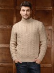 Свитер мужской NORVEG SWEATER WOOL цвет бежевый